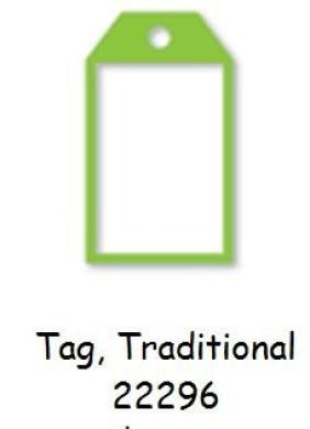 Ellison Design Thin Cuts - Window Cuts - Tag, Traditional