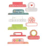 BasicGrey Olivia Paper Labels, Tabs