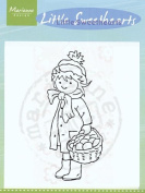 Clear Stamps - Little Sweetheart Carryiing Basket
