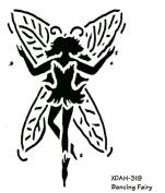 Heritage Handcrafts Stencil - Dancing Fairy