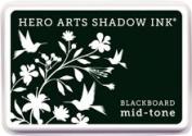 Black Mid-Tone Ink Stamp Pad