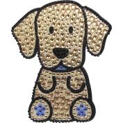 Yellow Labrador Retriever Dog - Love Your Breed Rhinestone Stickers