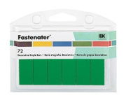 FASTENATER Decorative Embellished Staples CLOVER 72 Staple Pack For Scrapbooking, Card Making & Craft Projects