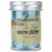 Stampendous Micro Glitter .1660ml-Ice Blue