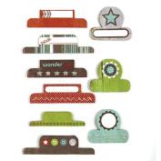 BasicGrey Oliver Paper Labels, Tabs