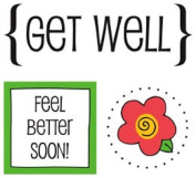 SRM Stickers Get Well Quick Cards