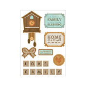 Kaisercraft Homemade Printed Chipboard 21cm by 15cm Sheets