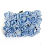 144X Mini Rose Bulk Paper Flowers Wedding Decor Craft Scrapbook