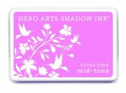 Hero Arts Mid-Tone Shadow Ink Pad, Ultra Pink
