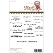 Little Darlings NOM063462 Unmounted Rubber Stamp, All Occasions