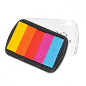 YazyCraft Rainbow Stamp pad 5 Palette
