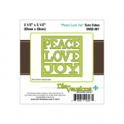 Die-Versions Shapes - Peace, Love, Joy