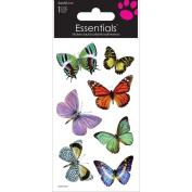Sandylion Butterflies Essentials Handmade Sticker, 5.1cm by 15cm