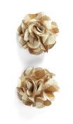 Jolee's Boutique Dimensional Stickers, Plaid Burlap Flower