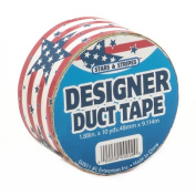 DARICE JFL2512 Stars and Stripes Duct Tape 1.88 in X 10 yds