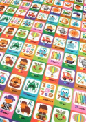 Playtime Alphabet Rolled Gift Wrap