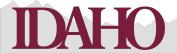 Petticoat Parlour Idaho Laser Cut for Page Decoration, 18cm by 5.1cm , Garnet on Pale Grey