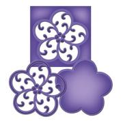 Spellbinders S2-039 Shapeabilities Medallion Nine Die D-Lites Templates