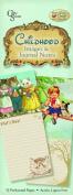 Crafty Secrets Heartwarming Vintage Childhood Image & Journal Note