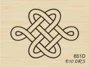 Celtic Knot Rubber Stamp By DRS Designs