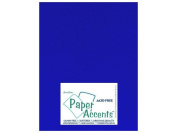 Paper Accents Cardstock 8.5x11 Smooth Royal Blue- 65lb 25 Pack