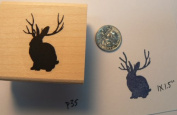 Jackalobe rubber stamp