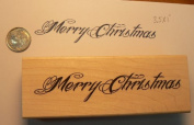 Merry Christmas font style stamp P36