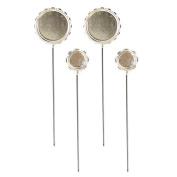 Spellbinders MB3-001S Media Mixage Circle Hatpin Bezel for Scrapbooking, Silver