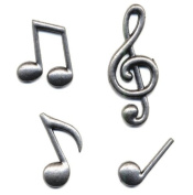 Momenta Small Metal Musical Notes
