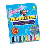 Mr. Sketch 20078TL - Scented Watercolour Markers, 8 Colours, 8/Set-SAN20078TL