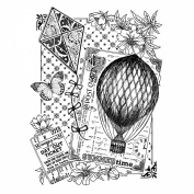 Crafty Individuals Unmounted Rubber Stamp 12cm x 18cm Pkg-Summertime