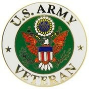 US Army Veteran Lapel Pin United States Military Collectibles, Patriotic Gifts for Men, Women, Teens, Veterans Great Gift Idea for Wife, Husband, Relative, Boyfriend, Girlfriend, Grandparent, Fiance or Friend. Perfect Christmas Stocking Stuffer or Vete ..