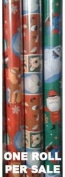 Rudolph the Red Nosed Reindeer Christmas Wrapping Paper - One Roll