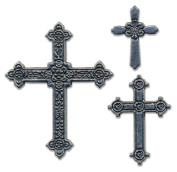 Momenta Small Metal Icon, Antinque Crosses