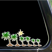 Palm Tree Family Car Decals Stickers Stick Family