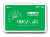 Hero Arts Rubber Stamps Dye Ink, Green