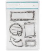 Kaisercraft Clear Doodled Frames Stamp