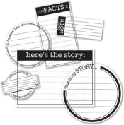 The Story Clear Cuts Journaling Pieces