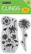 Hero Arts Cling Stamp, Wildflower Garden