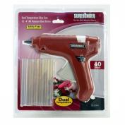 Surebonder DT-270KIT Full Size Dual Temperature Glue Gun with 12 - 10cm Standard All Purpose Glue Sticks