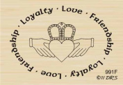 Claddah Rubber Stamp By DRS Designs