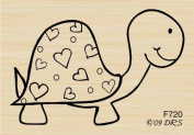 """""""Shell'don the Turtle Rubber Stamp By DRS Designs"""