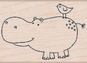 Friends - Rubber Stamps