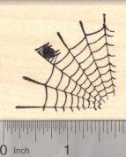 Spider Web, Halloween Rubber Stamp