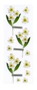 Martha Stewart Crafts Stickers, Narcissus Millinery