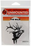Art Impressions Elk Rubber Stamp
