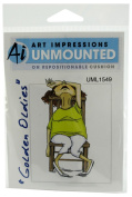 Art Impressions Madge Rubber Stamp
