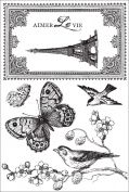 Kaisercraft Bonjour Clear Stamps, 10cm by 15cm