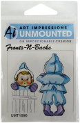 Art Impressions Janie Rubber Stamp