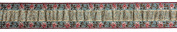 Dove of the East Moonlight Roses Brocade Ribbon for Scrapbooking, 1-Yard
